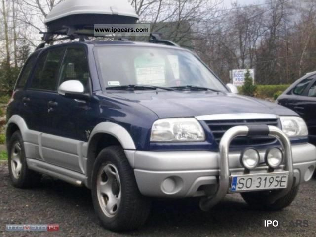 2005 Suzuki Vitara Lpg Car Photo And Specs
