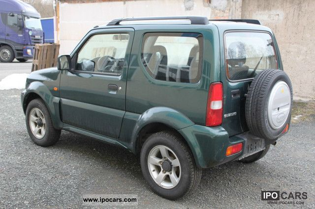 2006 suzuki comfort jimny 4x4 air 1 3 lpg hu 01. Black Bedroom Furniture Sets. Home Design Ideas