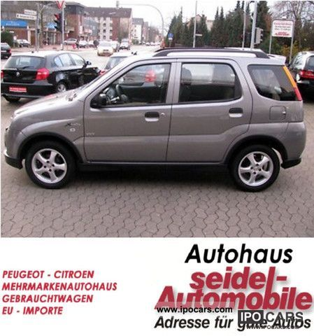 2006 suzuki ignis 1 3 4x4 comfort 1 hand air car photo and specs. Black Bedroom Furniture Sets. Home Design Ideas