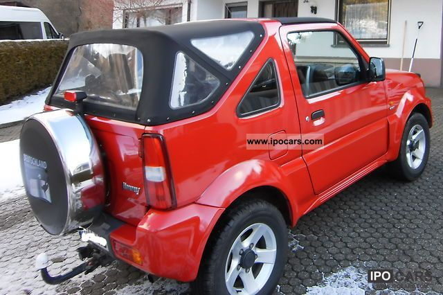 2006 suzuki jimny convertible santana car photo and specs. Black Bedroom Furniture Sets. Home Design Ideas
