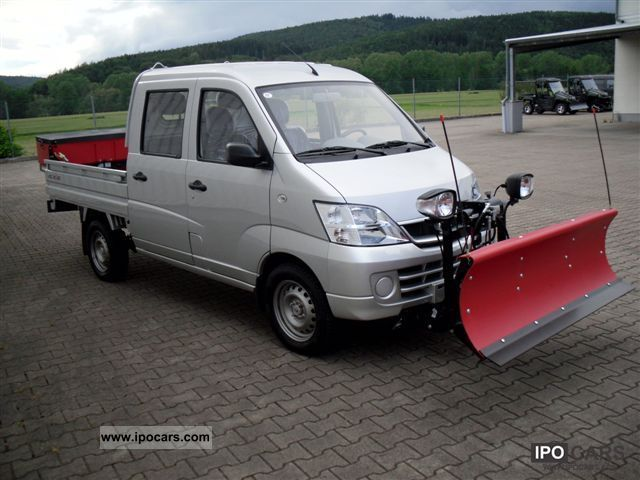 Suzuki  Changhe Freedom flatbed electric 2011 Electric Cars photo