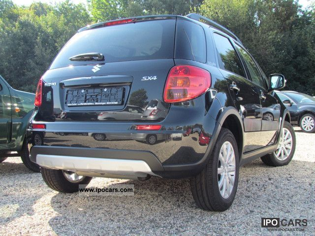 2012 suzuki sx4 1 6 style 4x4 special edition now available car photo and specs. Black Bedroom Furniture Sets. Home Design Ideas