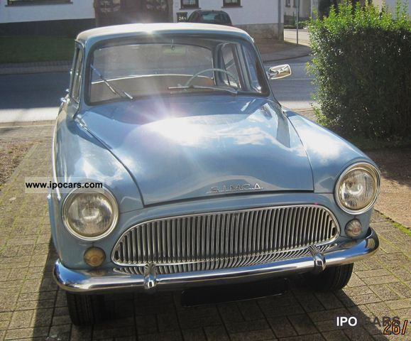 Talbot  Simca P60 Aronde 1961 Vintage, Classic and Old Cars photo