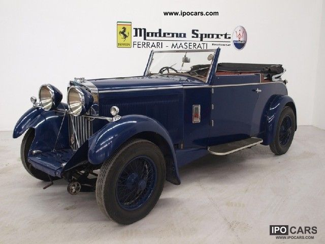 Talbot  2-AXLE RIGID BODY-TOURER 1935 Vintage, Classic and Old Cars photo