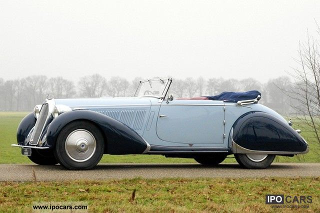 Talbot  Talbot-Lago T23 Cabriolet, 1938 1938 Vintage, Classic and Old Cars photo