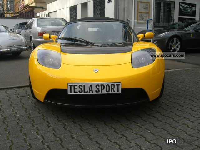 Tesla  Roadster Sport 2.5 2009 Electric Cars photo