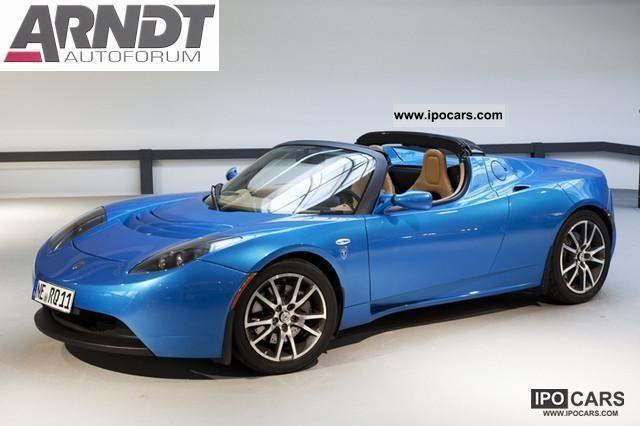 Tesla  Signature Edition Roadster, leather, air, 292 hp! 2010 Electric Cars photo