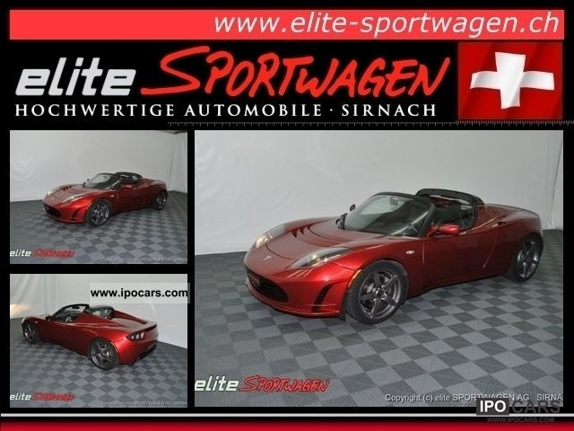 Tesla  Roadster 2010 Electric Cars photo