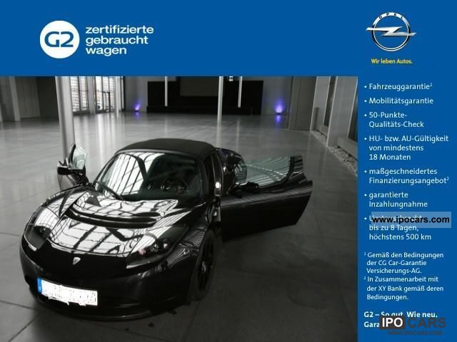 Tesla  Signature Roadster Sport 2009 Electric Cars photo