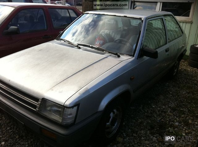 1982 Toyota  Tercel Small Car Used vehicle photo