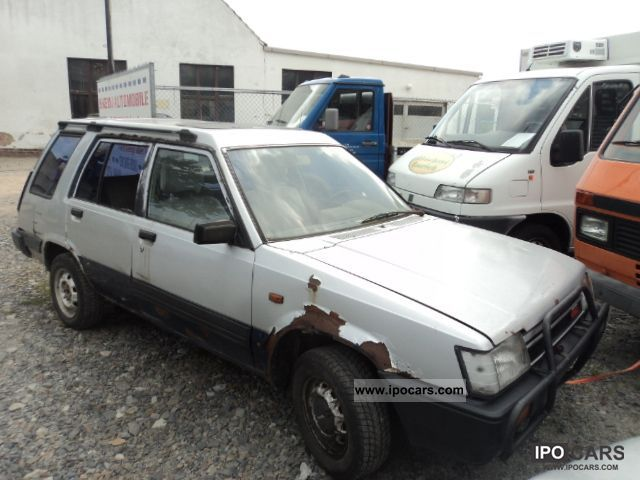 1983 Toyota  1.4 Tercel wheel, wagon, motor + gearbox Okay Estate Car Used vehicle 			(business photo