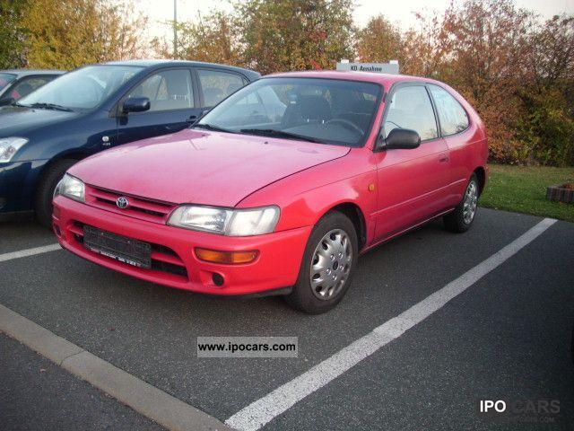 1995 Toyota  Corolla 1.4 XLi hit Mod 95 Limousine Used vehicle photo
