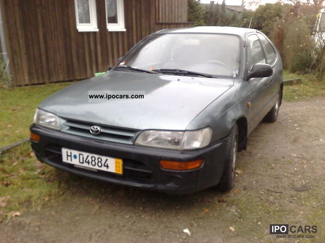 1993 Toyota  Corolla 1.4 XLi Limousine Used vehicle photo
