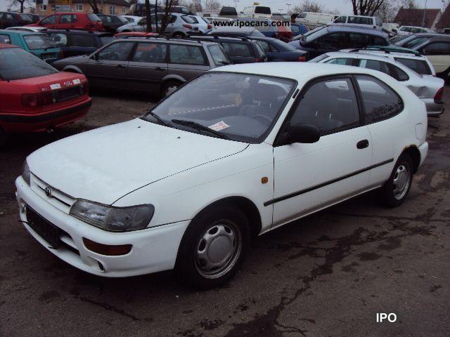 1995 Toyota Corolla 1 4 Xli Limousine Used Vehicle Photo