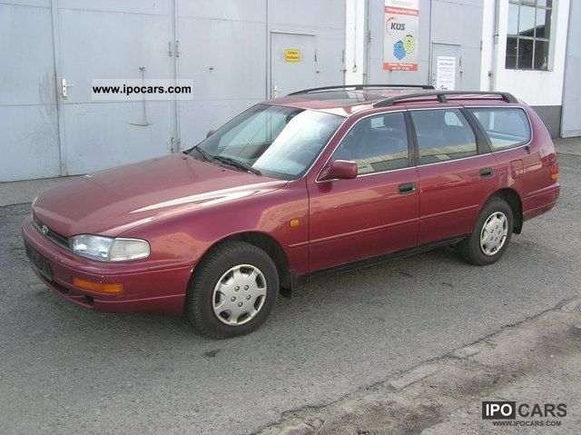 1993 toyota camry combi 2 2 gl car photo and specs. Black Bedroom Furniture Sets. Home Design Ideas