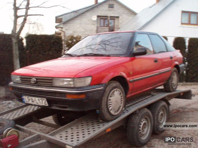 1990 Toyota  1.3xli corolla liftback Small Car Used vehicle photo