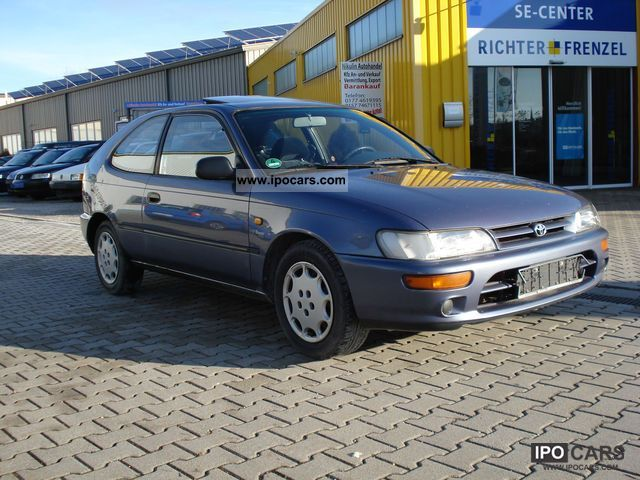 1992 toyota corolla 1.6 si, el.schiebedach - car photo and specs