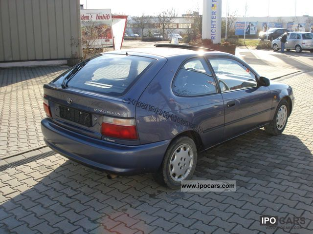 1992 toyota corolla 1.6 saloon related infomation,specifications