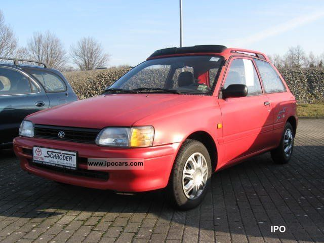 1995 Toyota  Starlet 1.3 Open Air Small Car Used vehicle photo