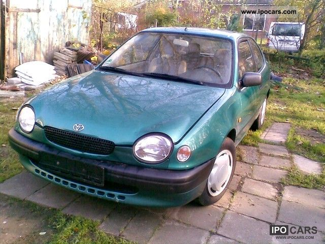 1998 Toyota Corolla Europe (B) 1.4 l - Car Photo and Specs