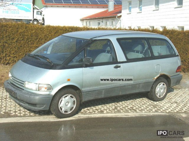 1994 Toyota Previa 7 Seater 2 Hand Car Photo And Specs