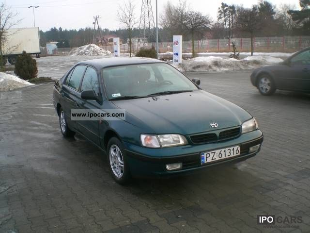 Toyota  Carina Z INSTALACJĄ Gazowa 1997 Liquefied Petroleum Gas Cars (LPG, GPL, propane) photo