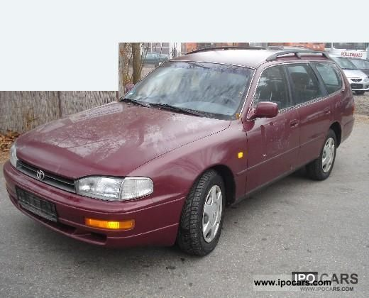 1996 toyota camry wagon 2 2 gl car photo and specs. Black Bedroom Furniture Sets. Home Design Ideas