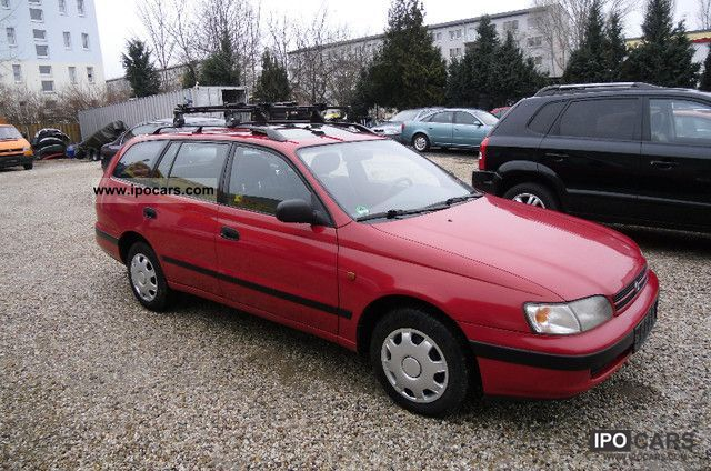 1995 Toyota  Carina 08.01 EURO-2, 2.Hand, El. Sunroof Estate Car Used vehicle photo