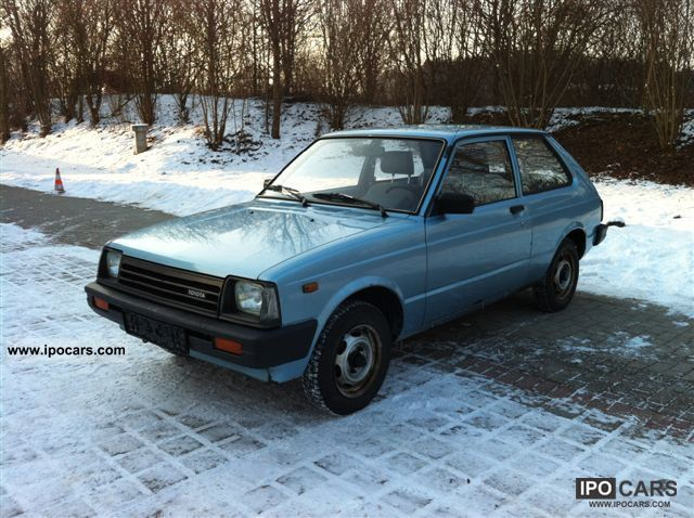 1983 Toyota  Vintage Starlet DX almost Small Car Used vehicle photo