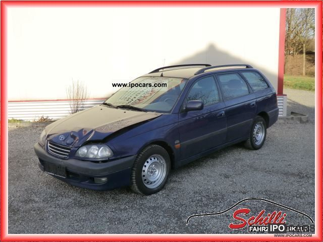 2000 Toyota Avensis D4D lineasol AIR HEATER! - Car Photo and Specs