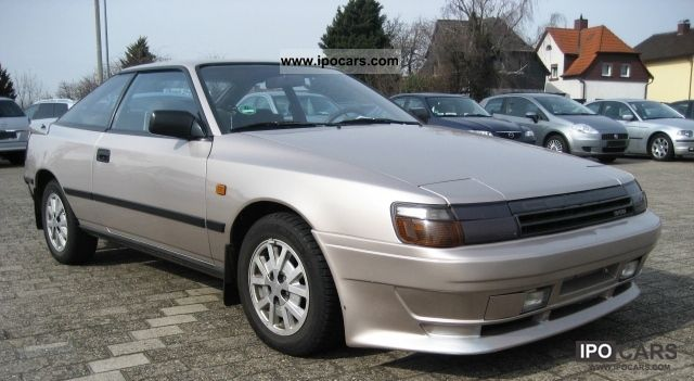 1986 Toyota Celica GT 2.0 1.Hand Sports Car/Coupe