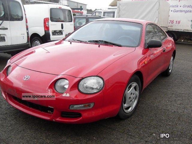 1998 Toyota Celica Sports Car Coupe