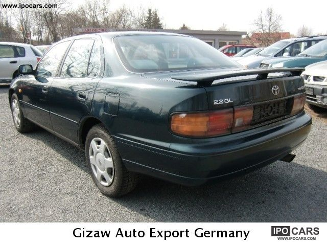 1994 toyota camry 2 2 gl car photo and specs. Black Bedroom Furniture Sets. Home Design Ideas