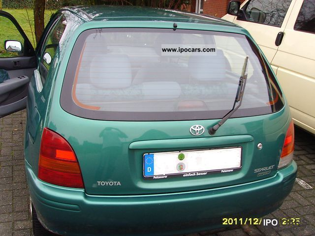 1998 Toyota Green Small Car Used Vehicle Photo