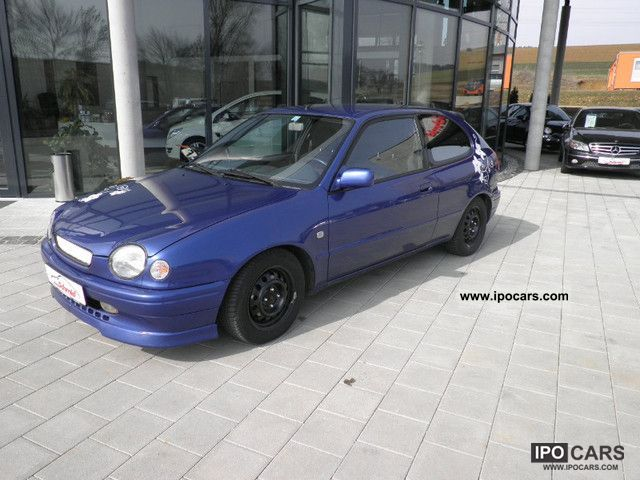 1999 Toyota  Corolla 1.6 G6 Limousine Used vehicle photo