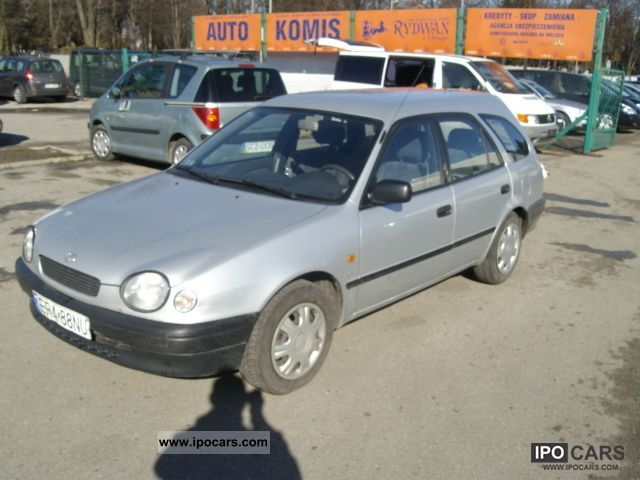1999 Toyota  Corolla Estate Car Used vehicle photo