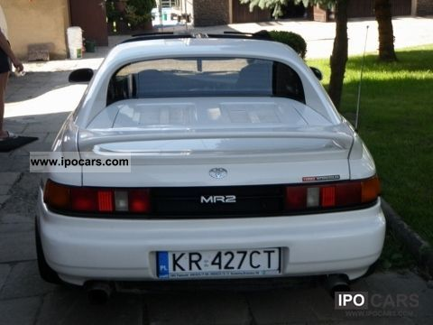 Toyota  MR 2 1994 Liquefied Petroleum Gas Cars (LPG, GPL, propane) photo