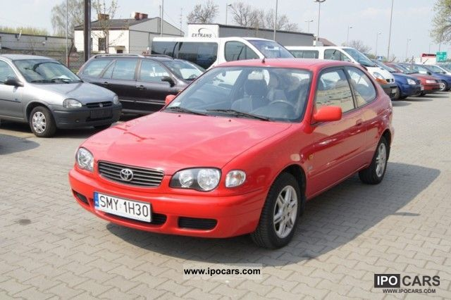 Lovely 2000 Toyota Corolla Small Car