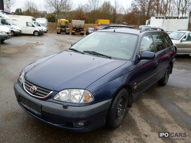 2001 Toyota Avensis 2 0 D4D Combi - Car Photo and Specs
