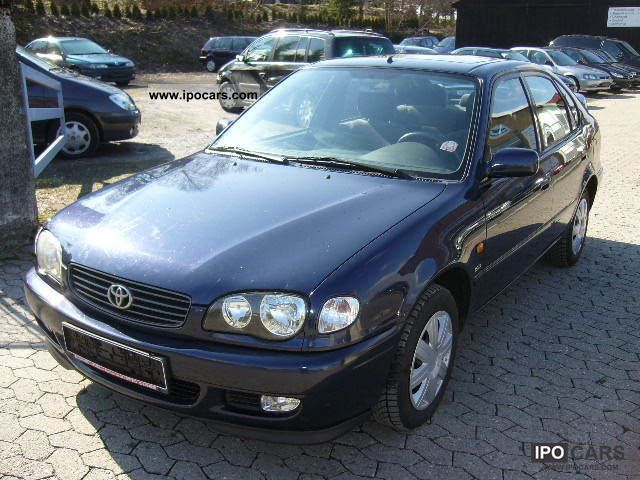 2002 toyota corolla 1 9 d linea sol car photo and specs