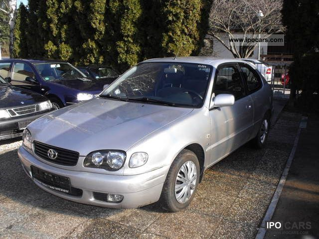 2001 Toyota  Corolla 1.6 LINEA SOL-AIR-1 HOLDER EURO 3 Limousine Used vehicle photo
