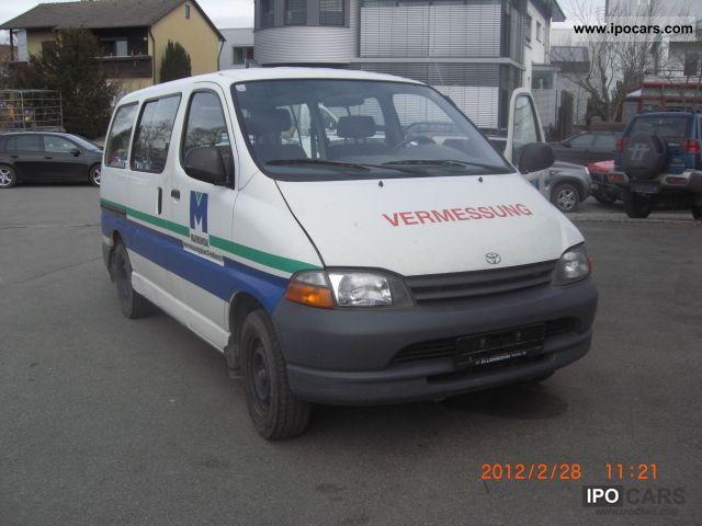 1998 Toyota  HiAce TD Van / Minibus Used vehicle photo