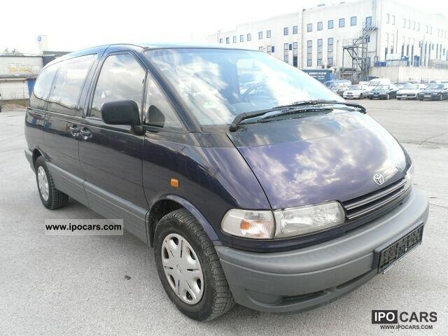toyota previa  seater air ac car photo  specs
