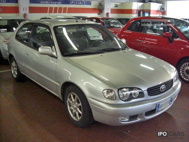 2001 Toyota  Corolla 1.6 VVT-i Sol 3pt. Limousine Used vehicle photo