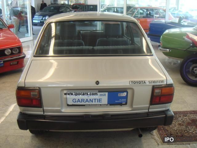 1981 toyota tercel deluxe h mark car photo and specs ipocars com