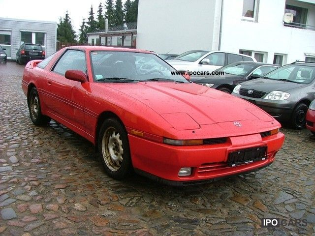 1991 toyota supra 3 0 turbo air targa roof car photo and specs. Black Bedroom Furniture Sets. Home Design Ideas