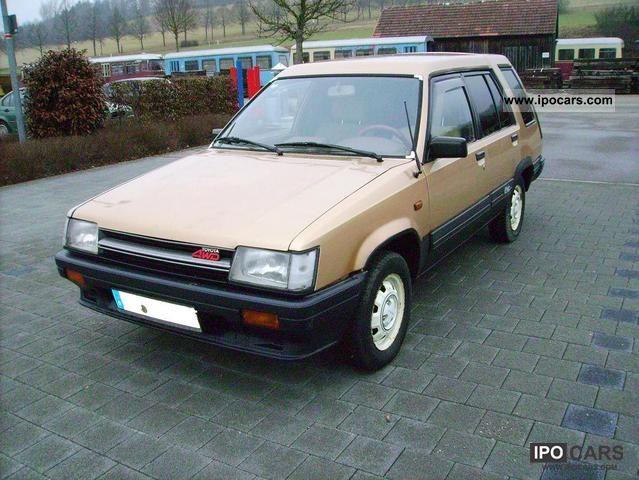 1986 Toyota  Tercel wheel Estate Car Used vehicle photo