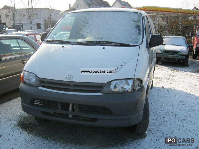 2001 Toyota  HiAce D Van / Minibus Used vehicle photo