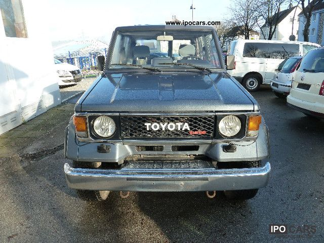 1989 Toyota  Landcruiser LJ 70 Special Turbo Power 2.Hand Off-road Vehicle/Pickup Truck Used vehicle photo