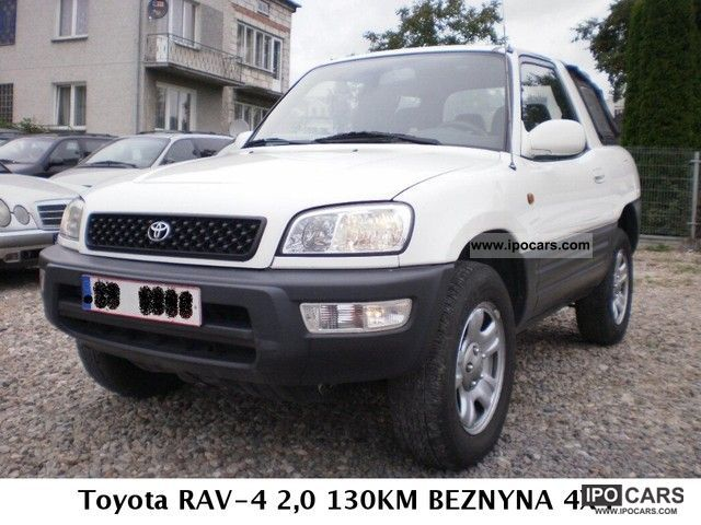 1999 Toyota  RAV-4 2.0 130KM BEZNYNA 4X4 Off-road Vehicle/Pickup Truck Used vehicle photo